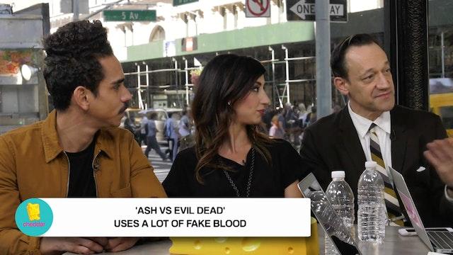 Cast of Ash VS. The Evil Dead reveals...
