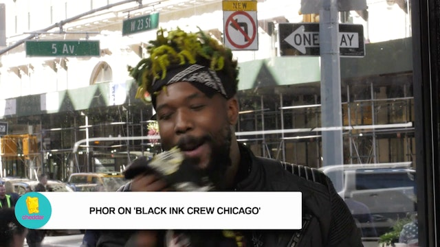Black Ink Crew's Phor dishes on Don &...