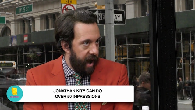 Jonathan Kite's impressions will have...