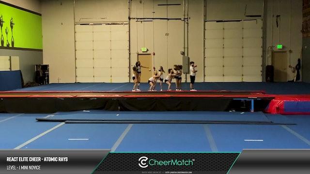 REACT Elite Cheer - Atomic Rays - L1 Mini Novice