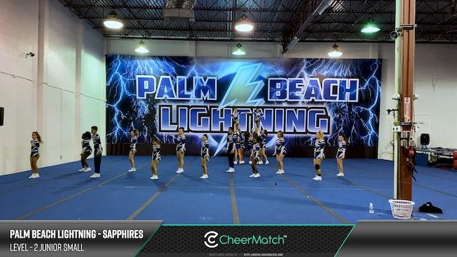 ENCORE Match-Palm Beach Lightning-Sapphires-2 Junior Small-08-10-12