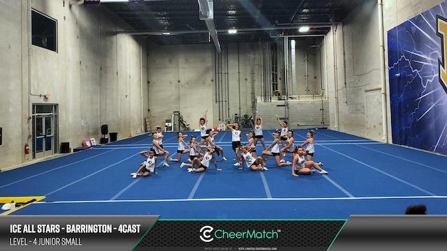ENCORE Match-ICE All Stars - Barrington-4cast-4 Junior Small-08-48-12