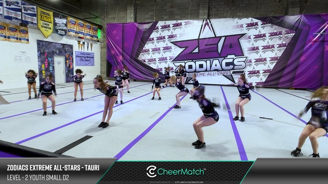 Zodiacs Extreme All-Stars - Tauri - L2 Small Youth D2