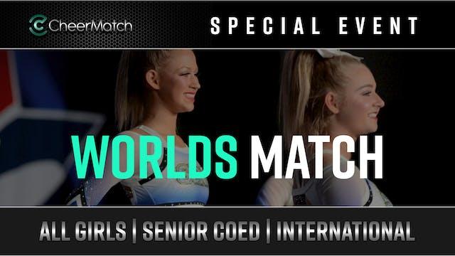 CheerMatch™ - Worlds Match