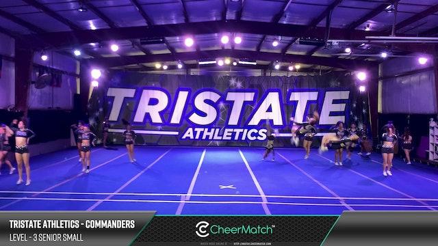 Match - 15-Tristate Athletics-Commanders-3 Senior Small-09-15-14