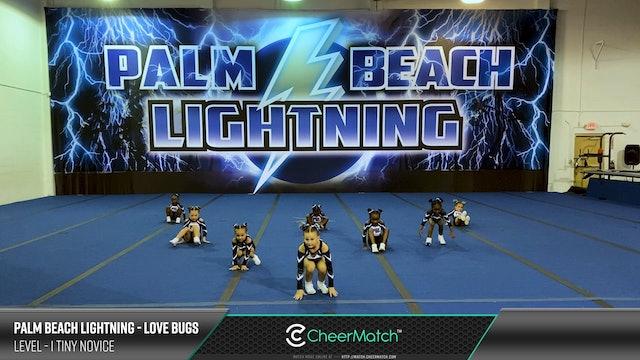 ENCORE Match-Palm Beach Lightning-Love Bugs-1 Tiny Novice-07-16-12