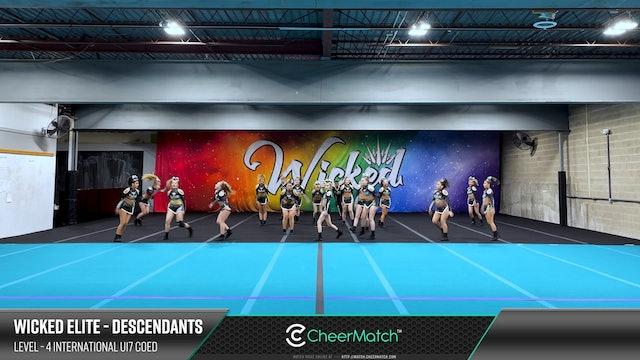 ENCORE Match-Wicked Elite-DESCENDANTS-4 International U17 Coed-09-06-59
