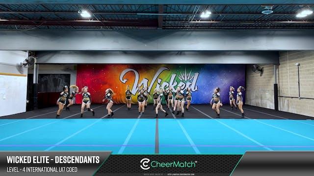 ENCORE Match-Wicked Elite-DESCENDANTS...