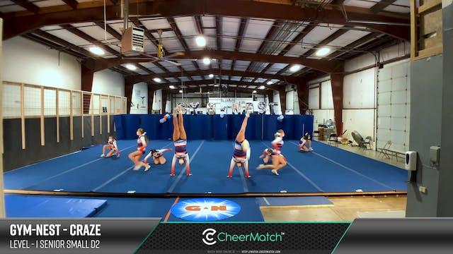 ENCORE Match-Gym-Nest-Craze-1 Senior ...