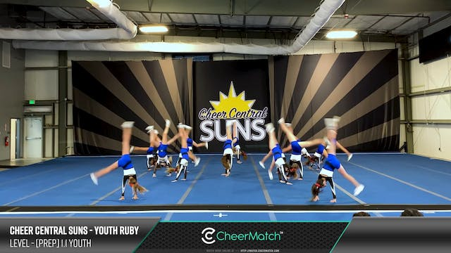 ENCORE Match-Cheer Central Suns-Youth...