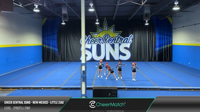 ENCORE Match-Cheer Central Suns - New...