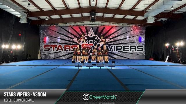 ENCORE Match-Stars Vipers-V3nom-3 Junior Small-08-49-42