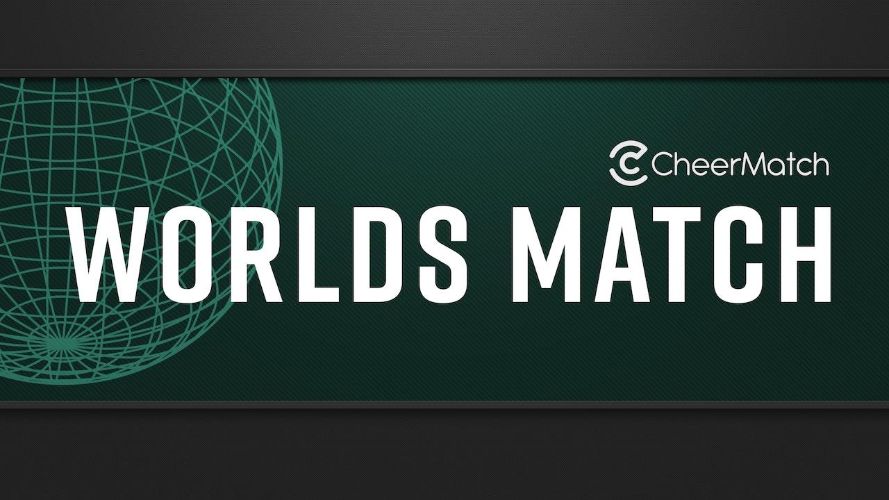CheerMatch™ Worlds Match - Senior COED