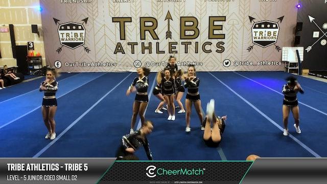 Match - 15-Tribe Athletics-TRIBE 5-5 Junior Coed Small D2-05-12-33