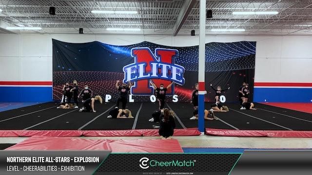ENCORE Match-Northern Elite All-Stars-Explosion-CheerABILITIES - Exhibition-11-21-28