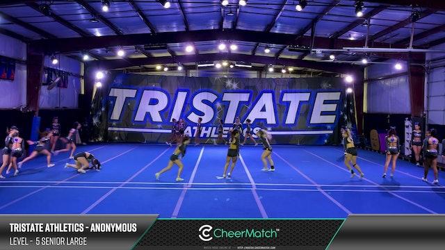 Match - 15-Tristate Athletics-Anonymous-5 Senior Large