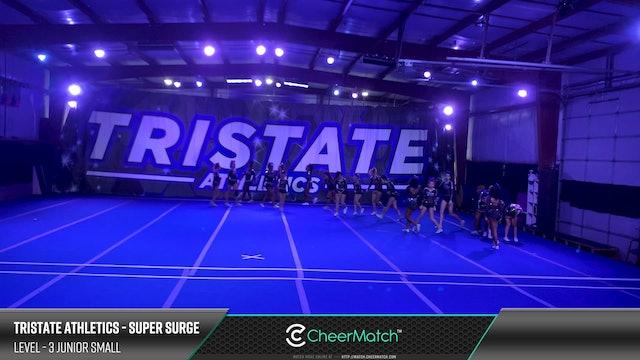 Match - 15-Tristate Athletics-Super Surge-3 Junior Small