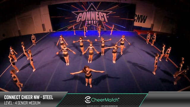 ENCORE Match-Connect Cheer NW-Steel-4...