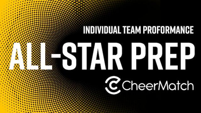 Ohio Valley All Stars - Tiny Dazzles - L1.1 Tiny Prep