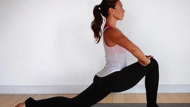 Level 1 & Restorative Hip and Hamstring Yoga For Athletes Bundle