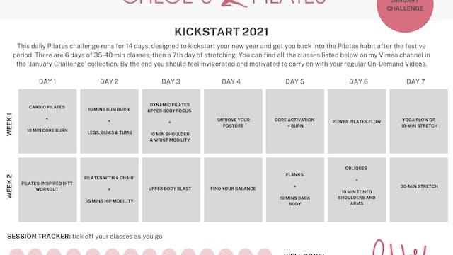 14 DAY KICKSTART CHALLENGE