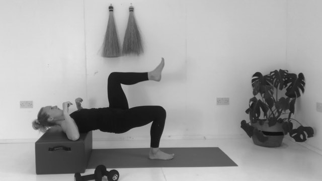 LOWER BODY STRENGTH WITH WEIGHTS