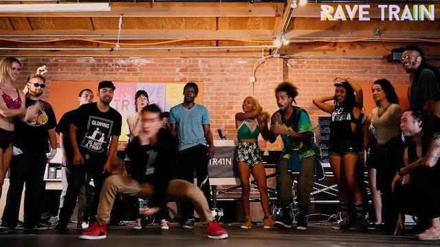 EDM Dance Show ft. Nekr0naut, Trance DJ