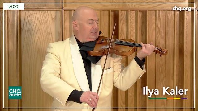 Recitals with Rossen featuring Ilya Kaler