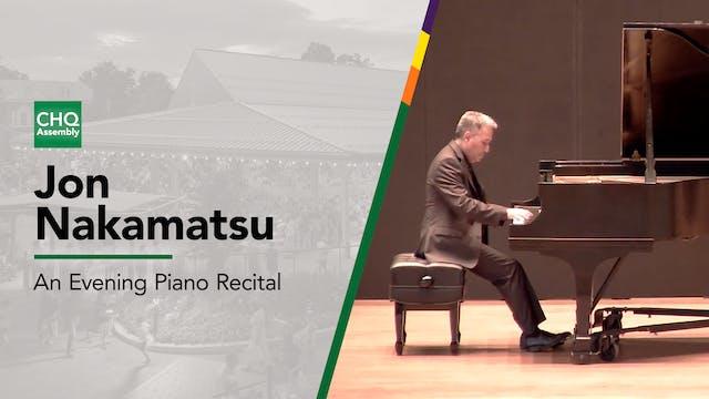 An Evening Piano Recital with Jon Nak...