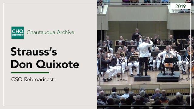 CSO Rebroadcast: Strauss's Don Quixote