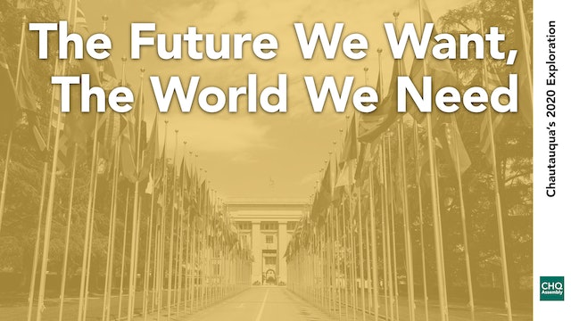 The Future We Want, The World We Need Trailer
