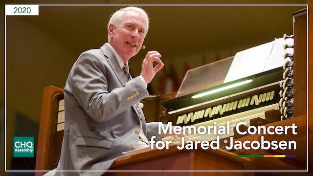 Memorial Concert in Memory of Jared Jacobsen