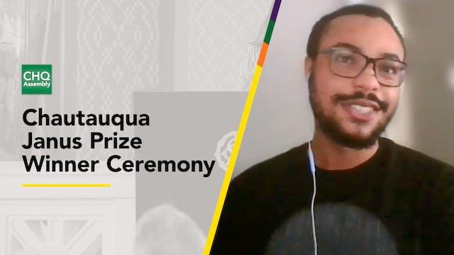 Chautauqua Janus Prize Winner Ceremony