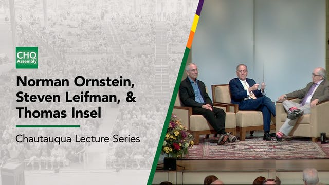 Norman Ornstein, Steven Leifman, and ...