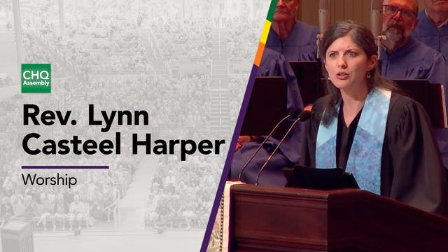 Rev. Lynn Casteel Harper - Thursday