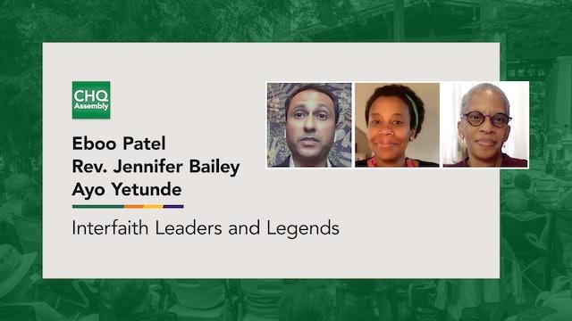 Interfaith Leaders and Legends: Rev. Jennifer Bailey & Ayo Yetunde