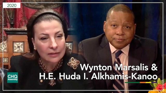 Wynton Marsalis in Conversation with H.E. Huda I. Alkhamis-Kanoo