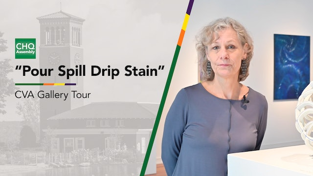"""Virtual Gallery Tour: """"Pour Spill Drip Stain"""" Exhibition"""