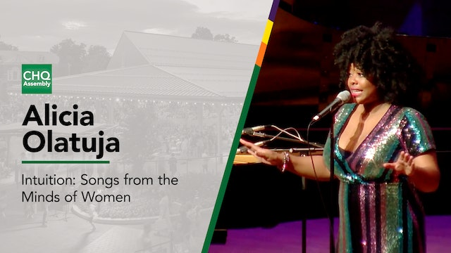 """Alicia Olatuja: """"Intuition — Songs from the Minds of Women"""""""