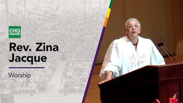 Rev. Zina Jacque - Friday