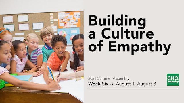 Building a Culture of Empathy