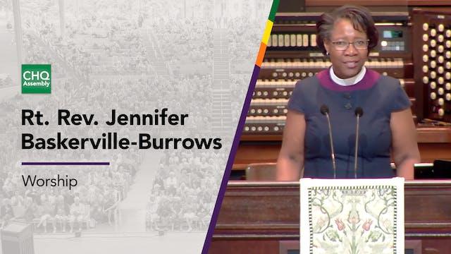 Rt. Rev. Jennifer Baskerville-Burrows...