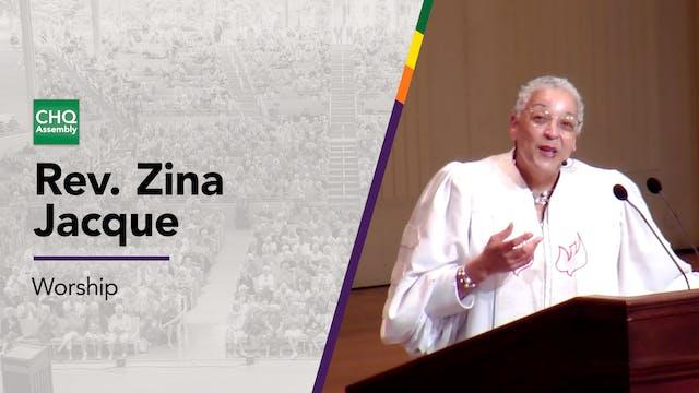 Rev. Zina Jacque - Tuesday