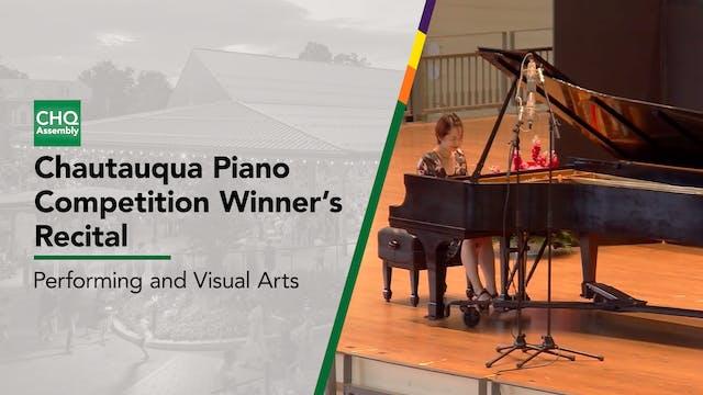Chautauqua Piano Competition Winners'...
