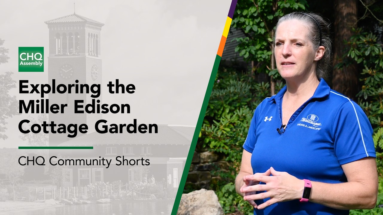 Exploring the Miller Edison Cottage Garden with Betsy Burgeson