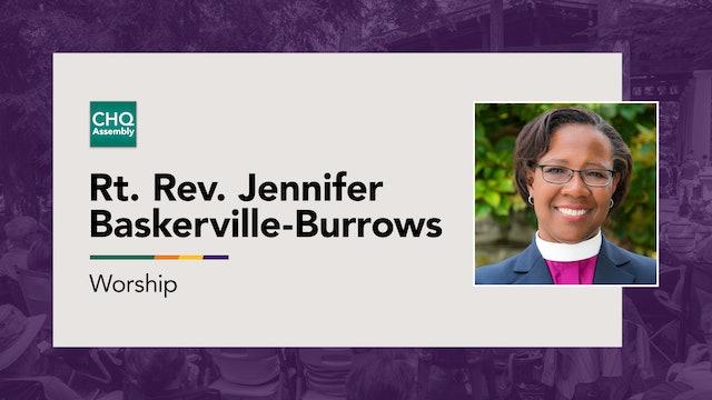 Rt. Rev. Jennifer Baskerville-Burrows - Monday