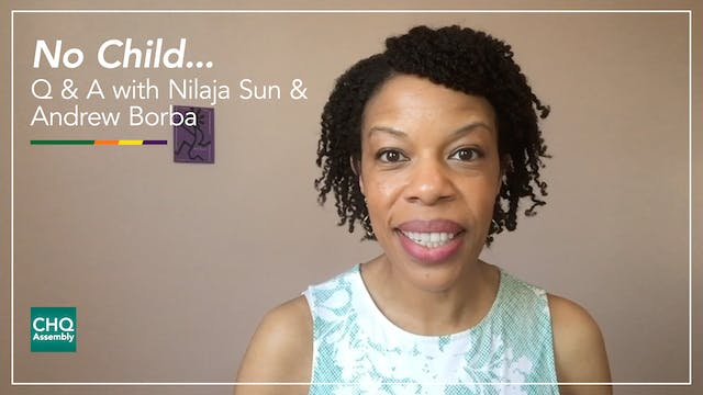 No Child... Q&A with Nilaja Sun and A...