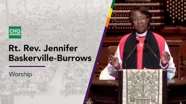 Rt. Rev. Jennifer Baskerville-Burrows - Sunday