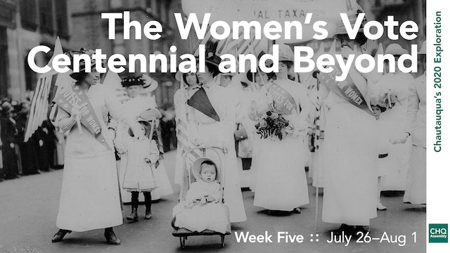 The Women's Vote Centennial and Beyond