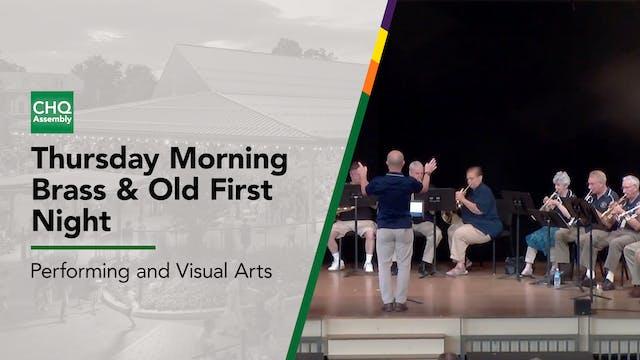Thursday Morning Brass & Old First Night